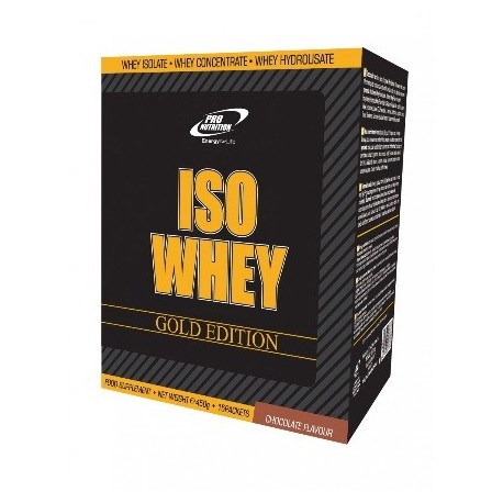ISO WHEY - GOLD EDITION 15X30G